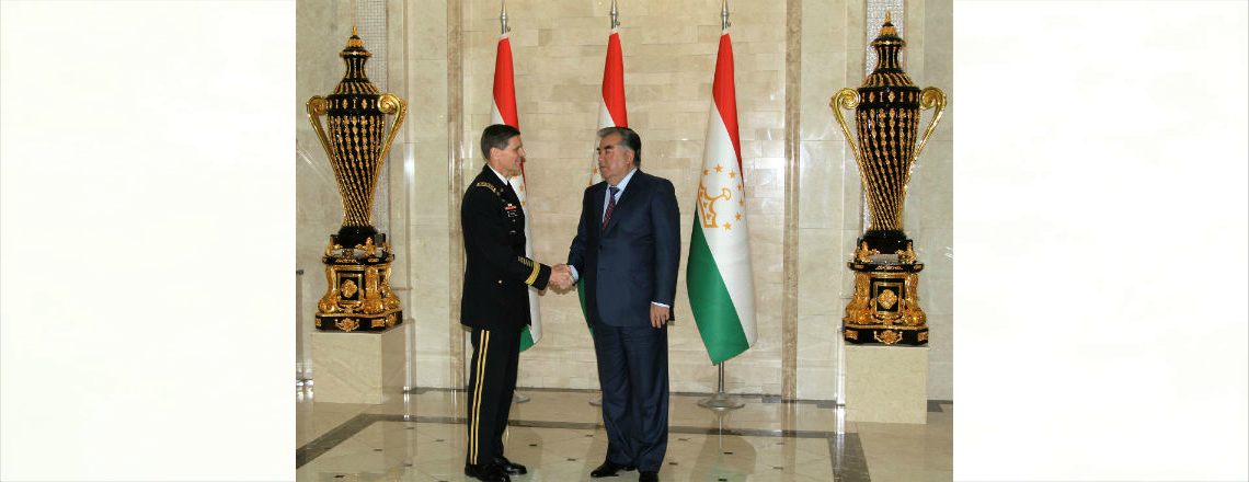 U.S. Central Command Commander Visits Tajikistan