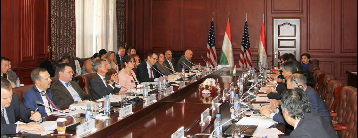 The United States and Tajikistan hold Annual Bilateral Consultations in Dushanbe
