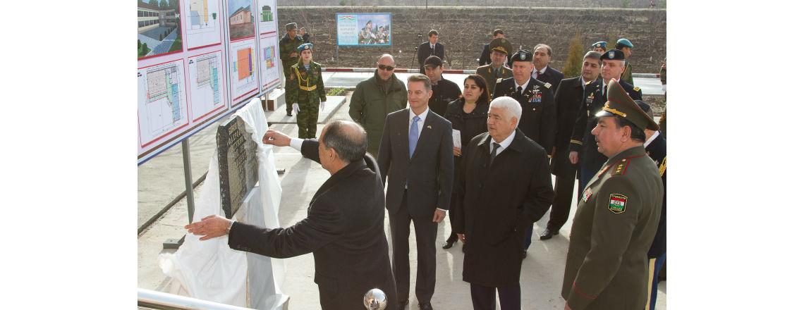Посольство США передало оборудованный комплекс стоимостью 1,3 миллионов долларов США